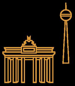 Berlin City Illustrations Berlin Yellow