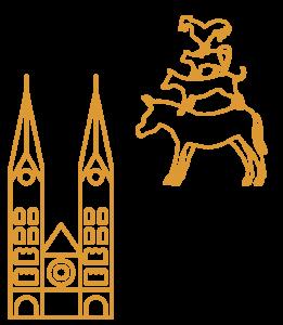 Bremen City Illustrations Bremen Yellow