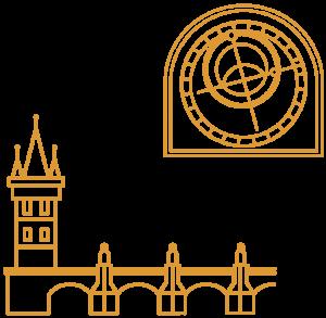 Prag City Illustrations Prag Yellow