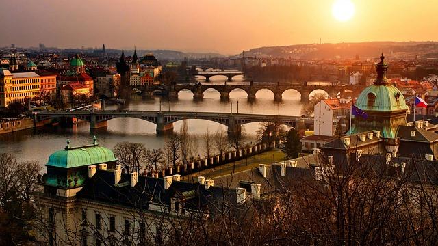 Prag How to arrive in Prague