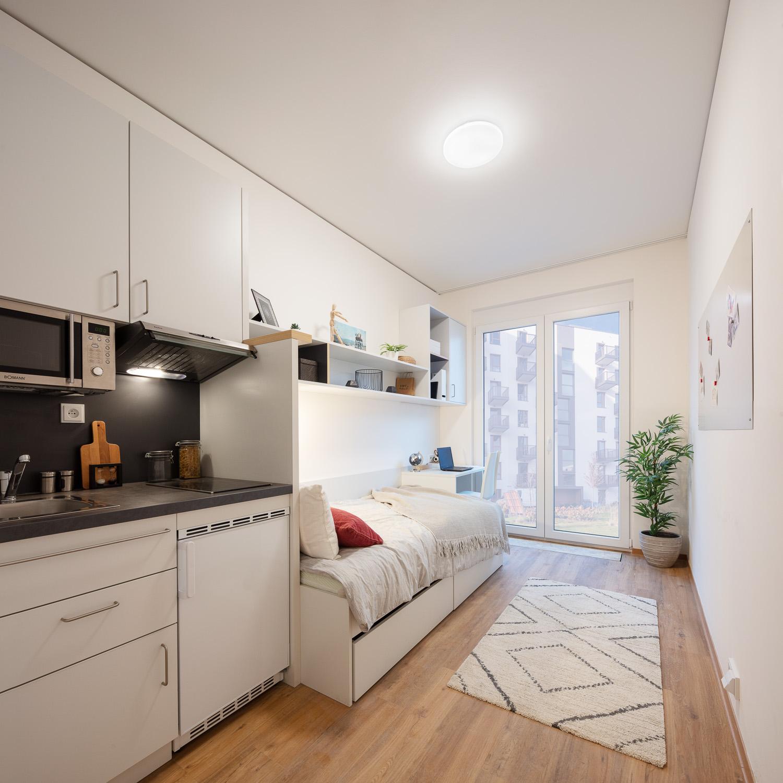 Prag THEFIZZPrague Single Apartment 1
