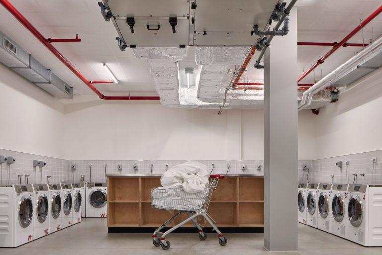 Co-living Prague prague laundry room scaled