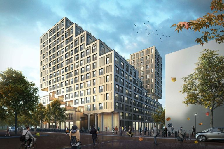 Utrecht utrecht student building