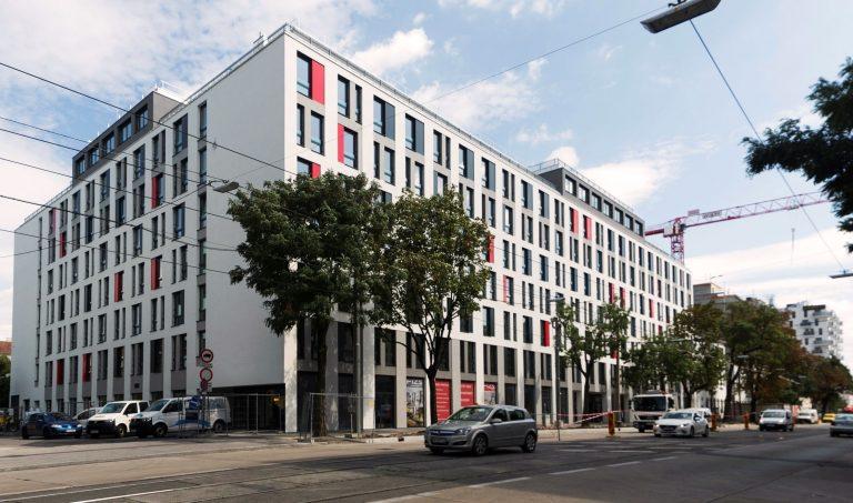 Wien Brigittenau vienna student building